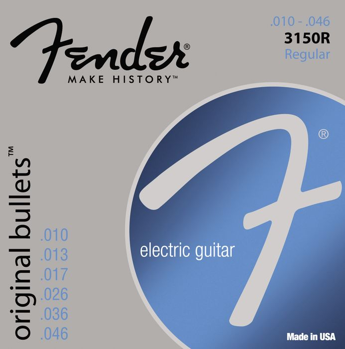 Fender Original Bullets 3150R Electric Guitar Strings