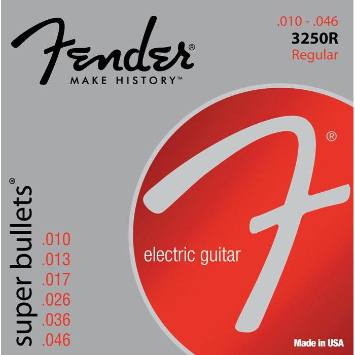 Fender Super Bullets 3250R Nickelplated Steel 10-46 Guitar Strings