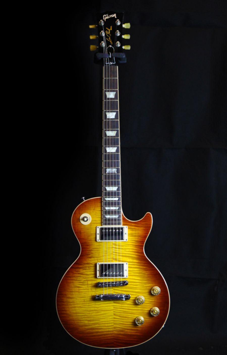 SOLD - 2014 Gibson Les Paul Standard - Honet Burst