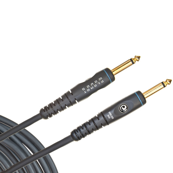 D'Addario Planet Waves Custom Series 1/4 Instrument Cable 20ft, 6.10m