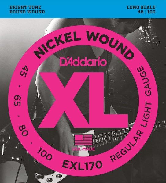 D'Addario EXL170 XL Bass 045-100