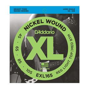 D'Addario EXL165 Bass String Set 45-105