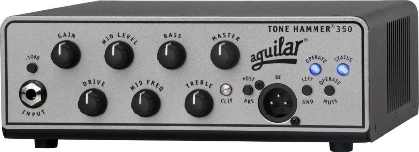Aguilar TH350 Tone Hammer 350 Super Light Head