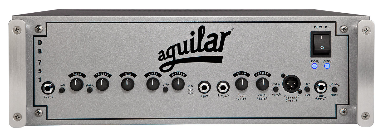 Aguilar DB751 Hybrid Bass Amplifier Head