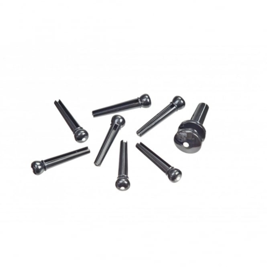 TGI Bridge Pins - Plastic Black with Dot BP20B
