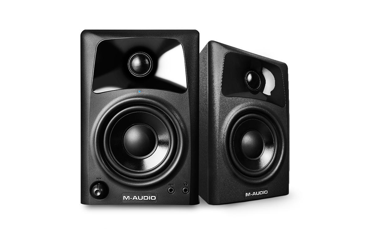 M Audio AV32 Compact Monitor Speakers - PAIR