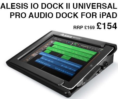 Alesis i0 Dock II, Recording interface For iPad Special Offer!