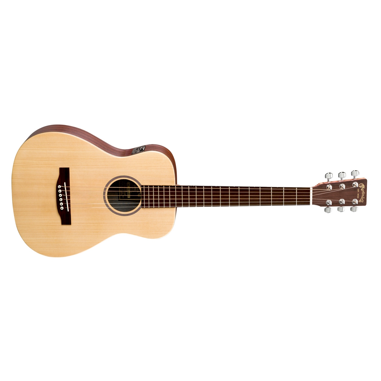 Martin LX1E Electro Acoustic Guitar in Natural