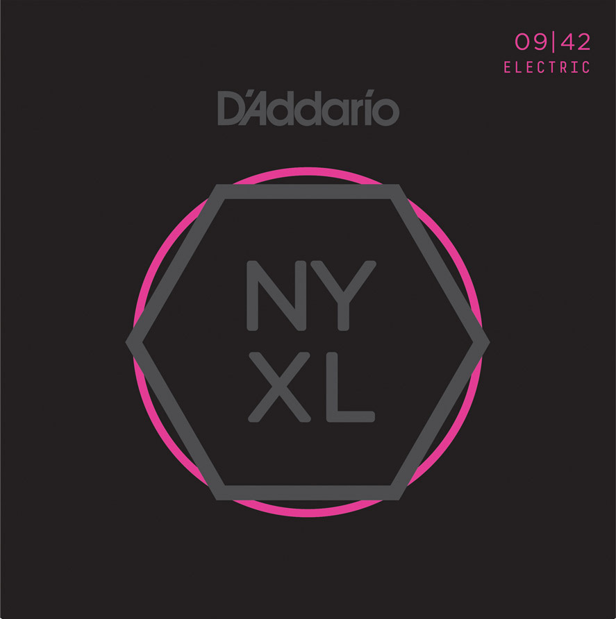D'Addario NYXL0942 Electric Guitar Strings 09-42