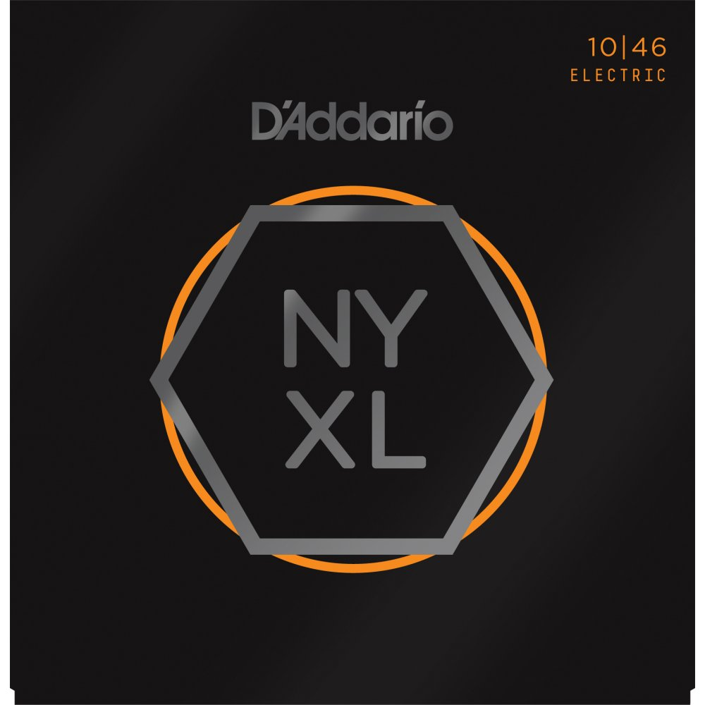 D'Addario NYXL1046 Electric Guitar Strings 10-46