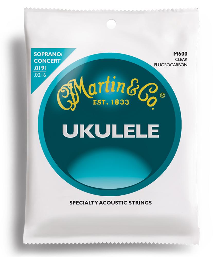 Martin & Co M600 Soprano Concert Ukulele Strings (19-21)