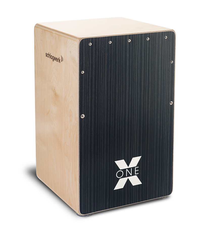 Schlagwerk CP 160 Cajon X-One, Hard Coal Stripes