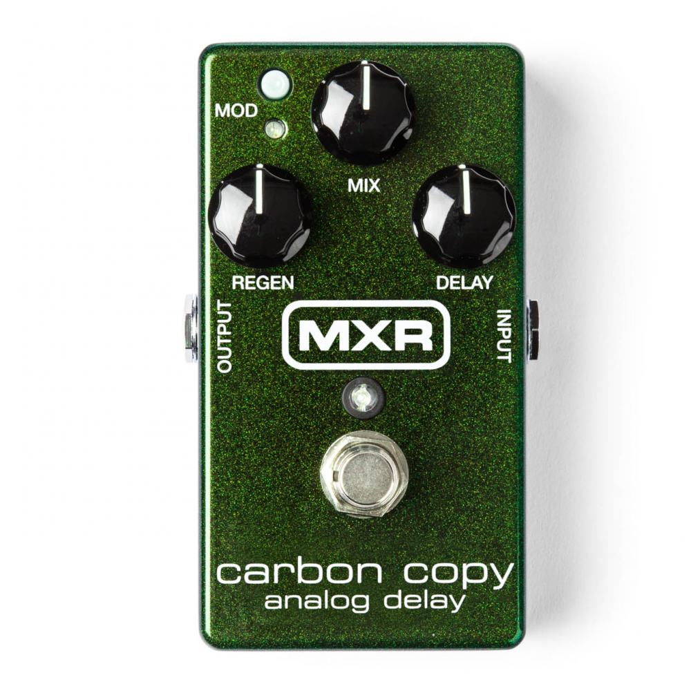 Jim Dunlop M169 MXR Carbon Copy Analogue Delay Pedal