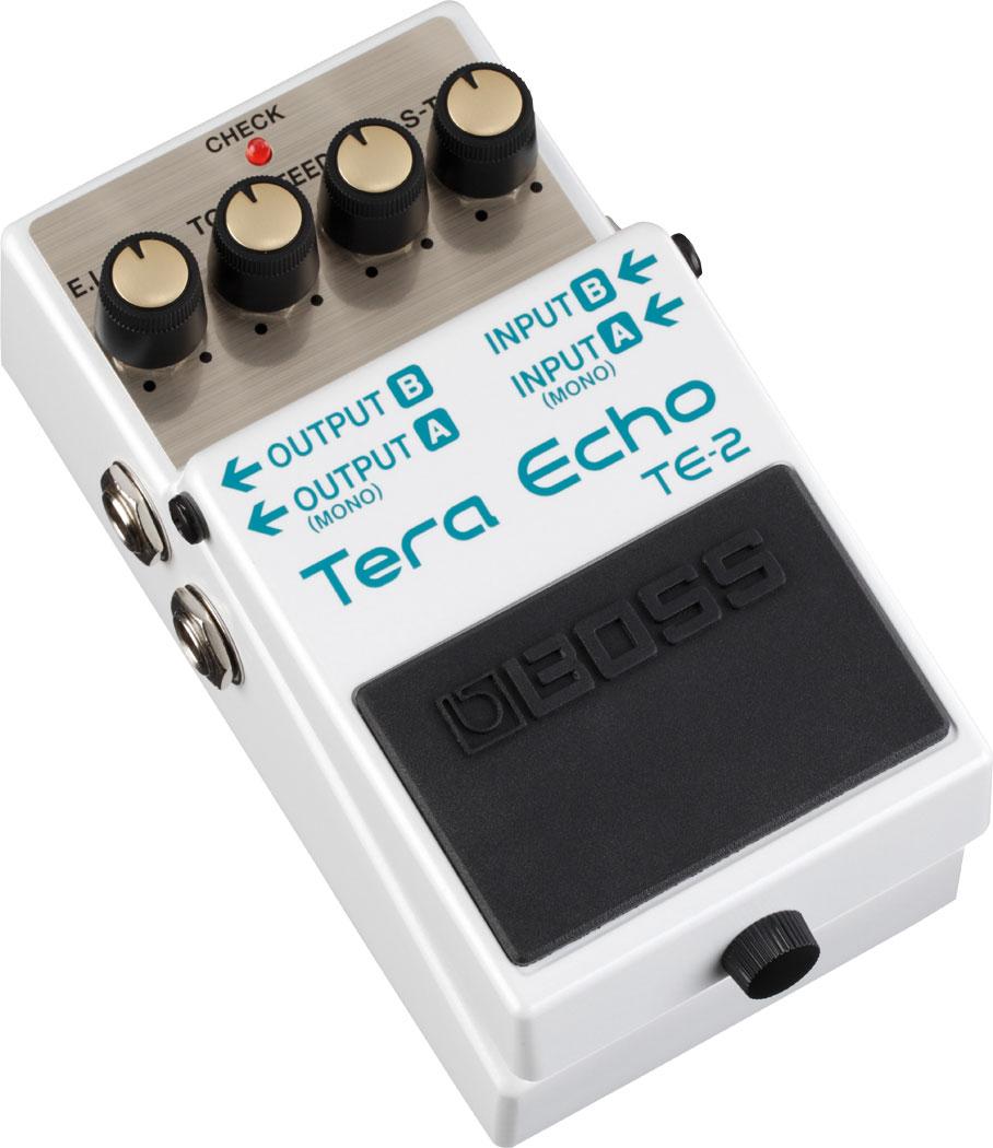 Boss TE-2 Tera Echo Adaptive Delay Guitar Effects Pedal