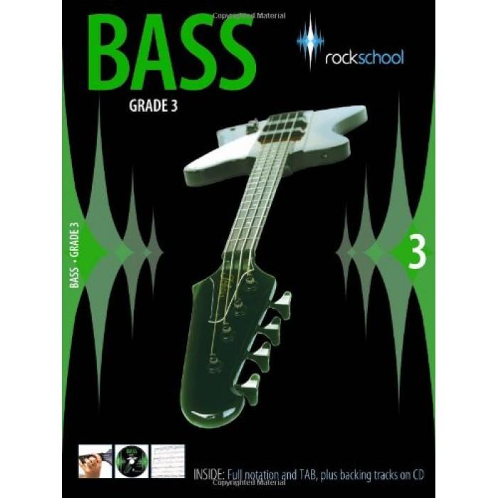 Rockschool Bass: Grade 3 (2006-2012): Book & CD