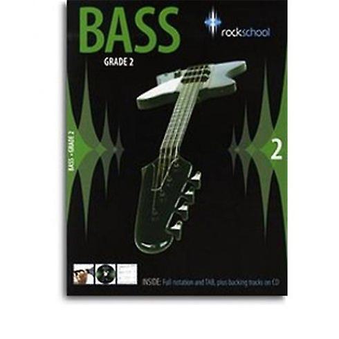 Rockschool Bass: Grade 2 (2006-2012): Book & CD
