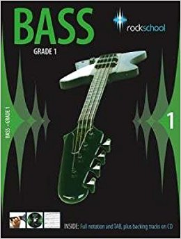 Rockschool Bass - Grade 1 (2006-2012) - Book + CD