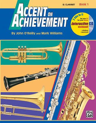 Accent on Achievement - Clarinet - Book 1 + CD