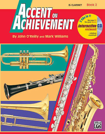 Accent on Achievement Clarinet Book 2
