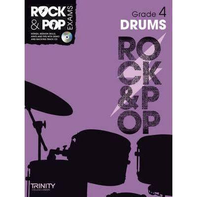Trinity Rock & Pop Drums Grade 4