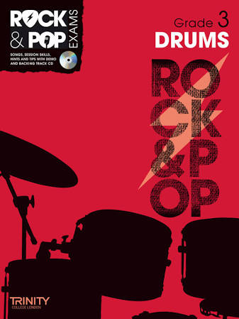 Trinity Rock & Pop Exams: Drums Grade 3