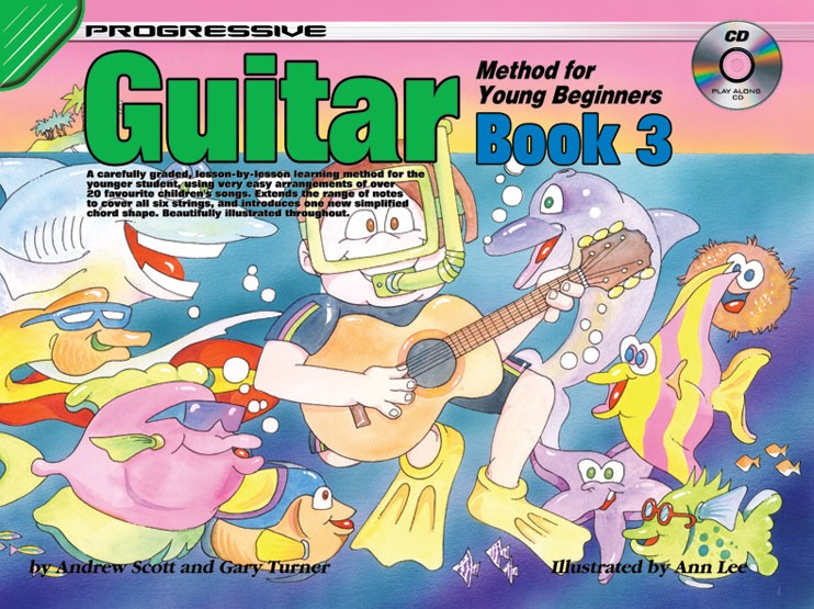 Progressive Guitar Method for Young Beginners Book 3