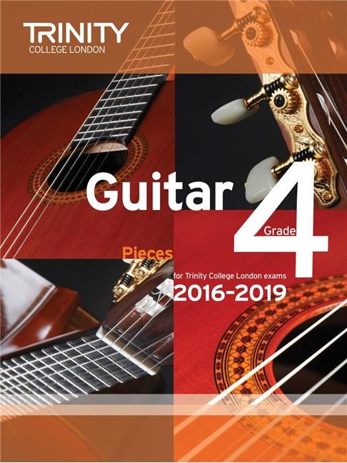 Trinity College London Guitar Exam Pieces Grade 4 2016-2019