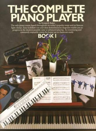 The Complete Piano Player Book 1