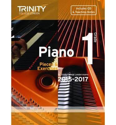 Piano 2015-2017: Pieces & Exercises Grade 1