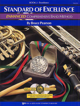 Standard Of Excellence: Enhanced Comprehensive Band Method, Trombone,  Book 2