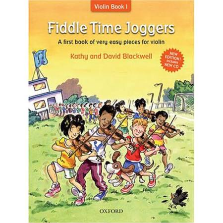 Fiddle Time Joggers + CD, Revised Edition: A First Book of Very Easy Pieces for Violin Book 1