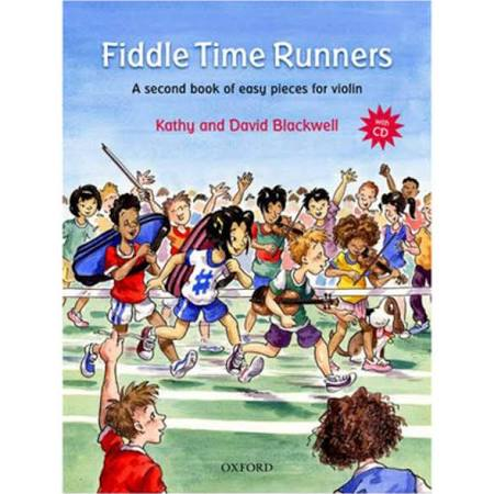 Fiddle Time Runners + CD, Revised Edition: A Second Book of Easy Pieces for Violin [Book]