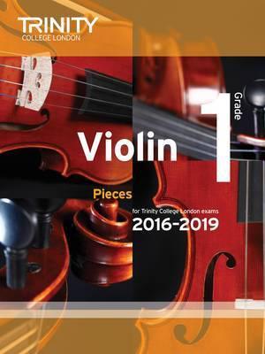 Trinity College London Violin Exam Pieces Grade 1 2016-2019 Book & CD