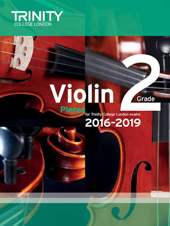 Trinity College London Violin Exam Pieces Grade 2 2016-2019 Book & CD