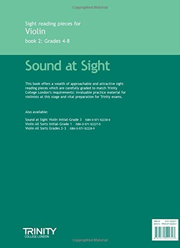 Trinity College London: Sight Reading Pieces for Violin Book 2: 4-8