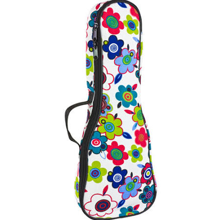 Tom and Will Soprano Ukulele Gig Bag - Flowers