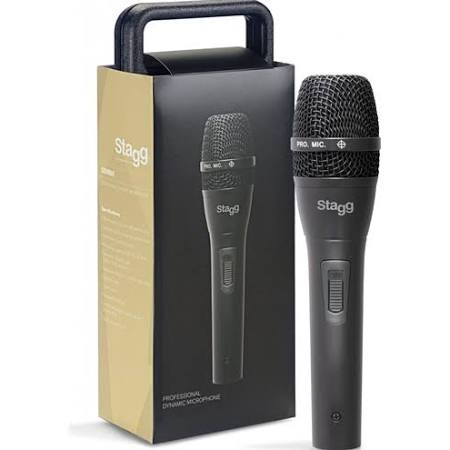 Stagg SDM80 Dynamic Cardioid Microphone Including Cable and Case