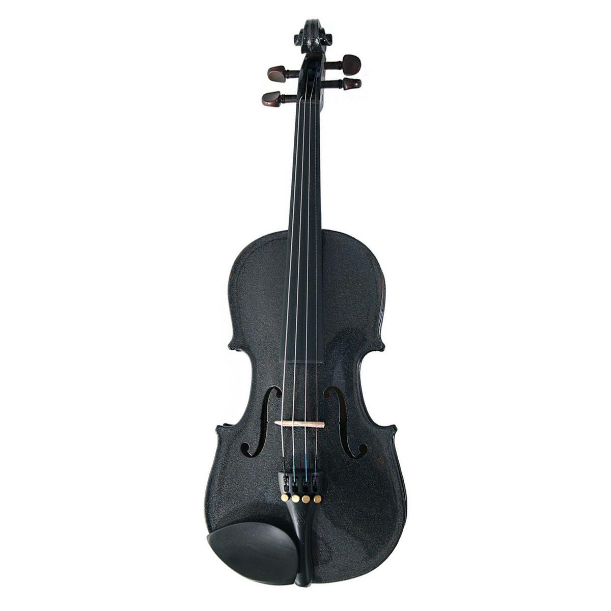 Stentor Harlequin Violin Outfit, Black