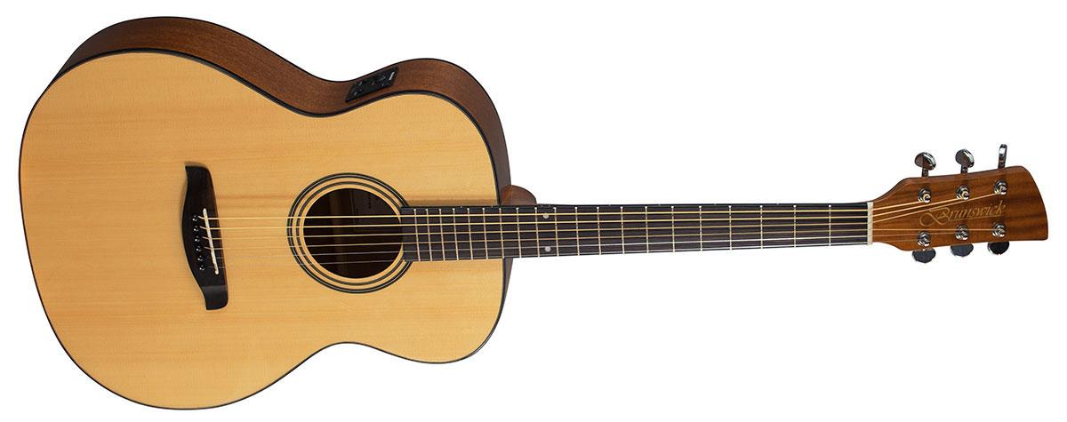 Brunswick Folk Guitar Natural Electro BF400E