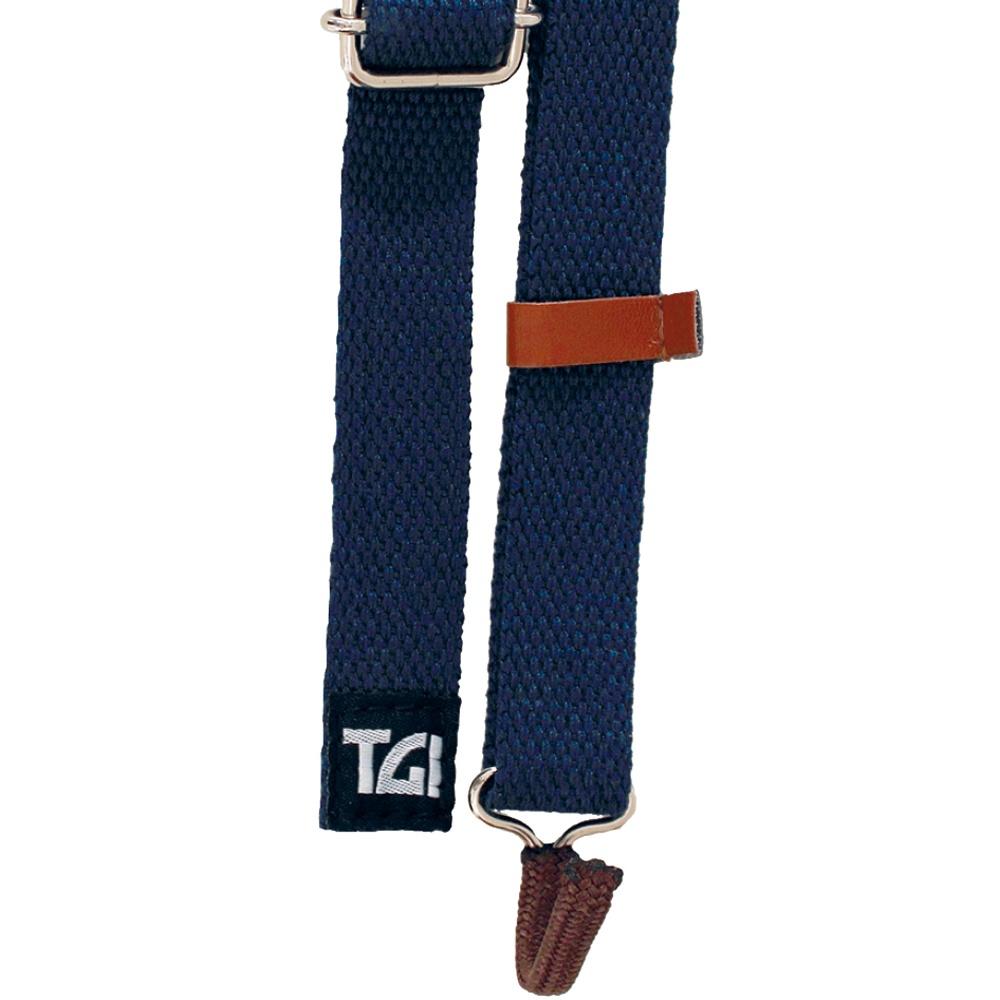 TGI Ukulele Sling Strap with Soundhole Hook (Blue) TGSUKBL