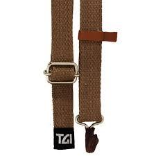 TGI Ukulele Sling Strap with Soundhole Hook (Brown) TGSUKBR