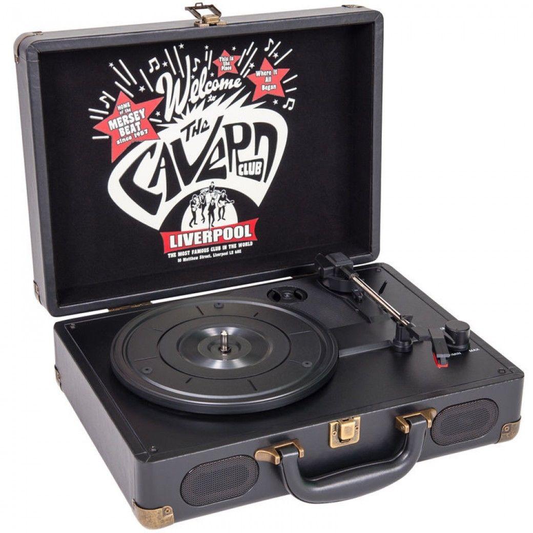 The Cavern Club Vinyl Record Player RPCV1