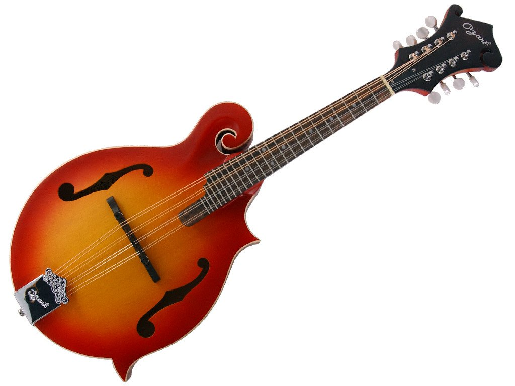 Ozark 2355CS Mandolin F Model Cherry Sunburst Transparent Finish