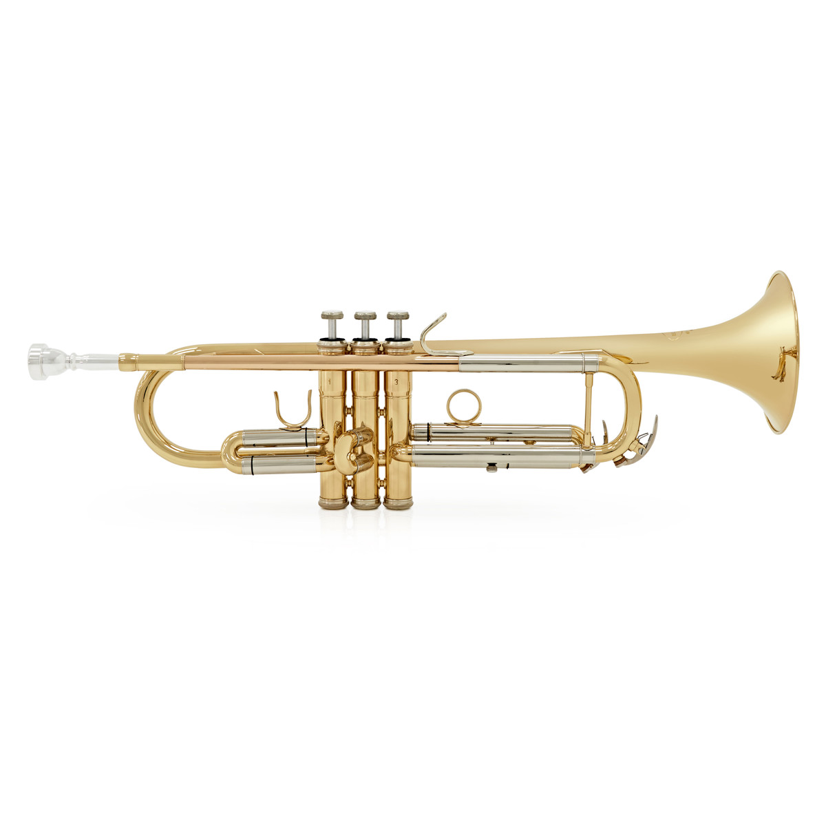 Besson BE110 New Standard Bb Trumpet, Clear Lacquer