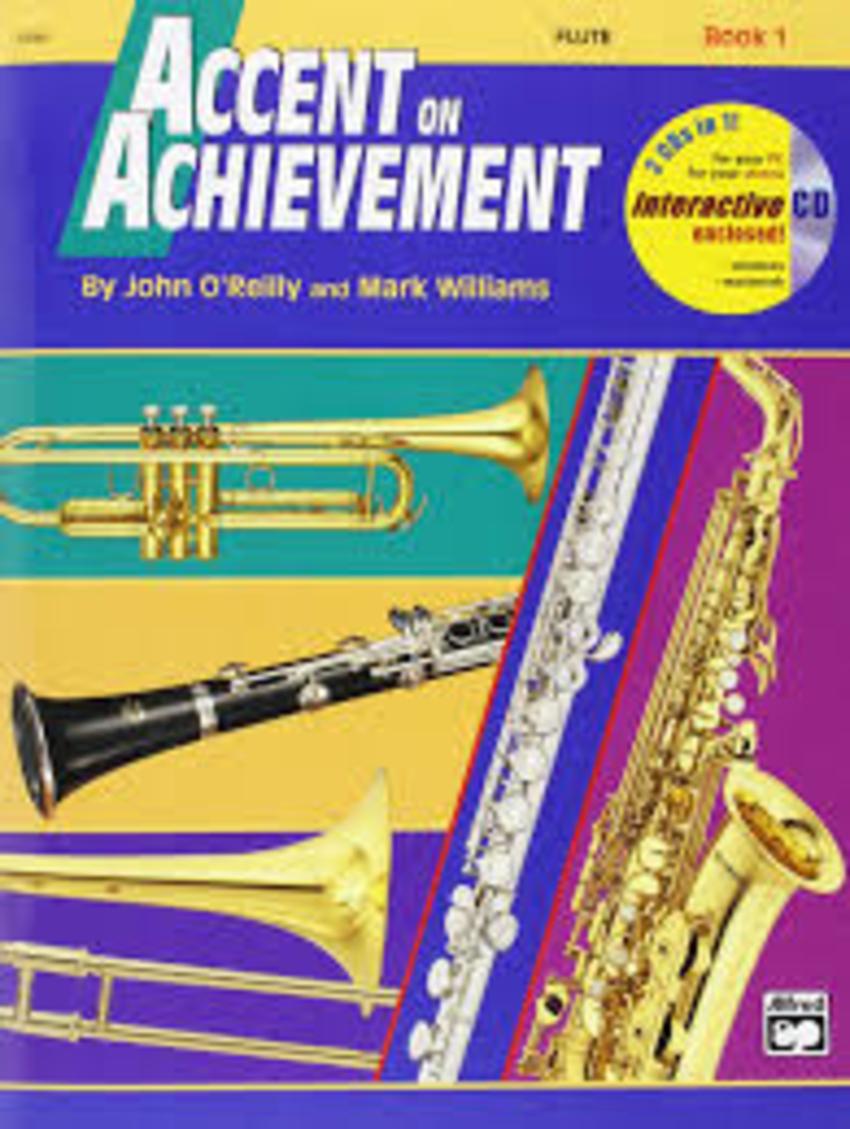 Accent on Achievement - Flute - Book 1 + CD