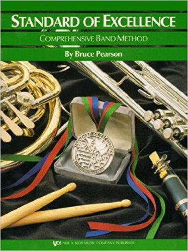 Standard of excellence comprehensive band method flute book 3