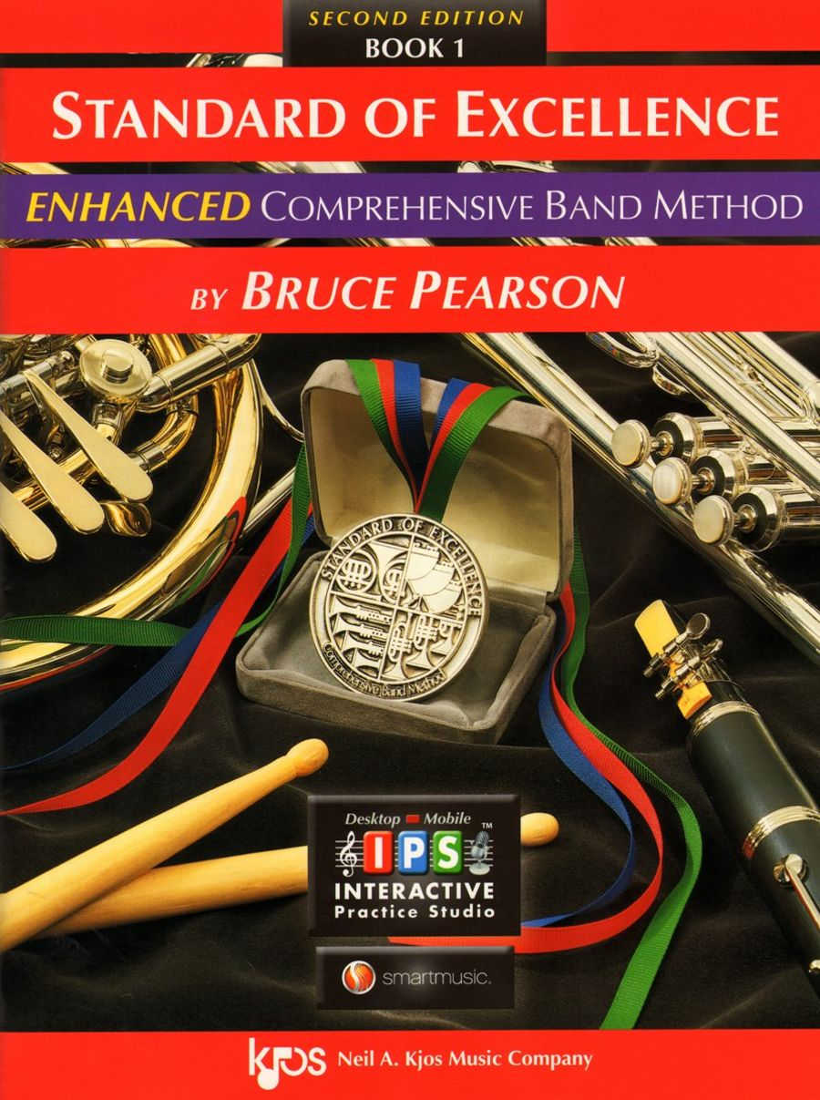 Standard of excellence comprehensive band method flute book 1