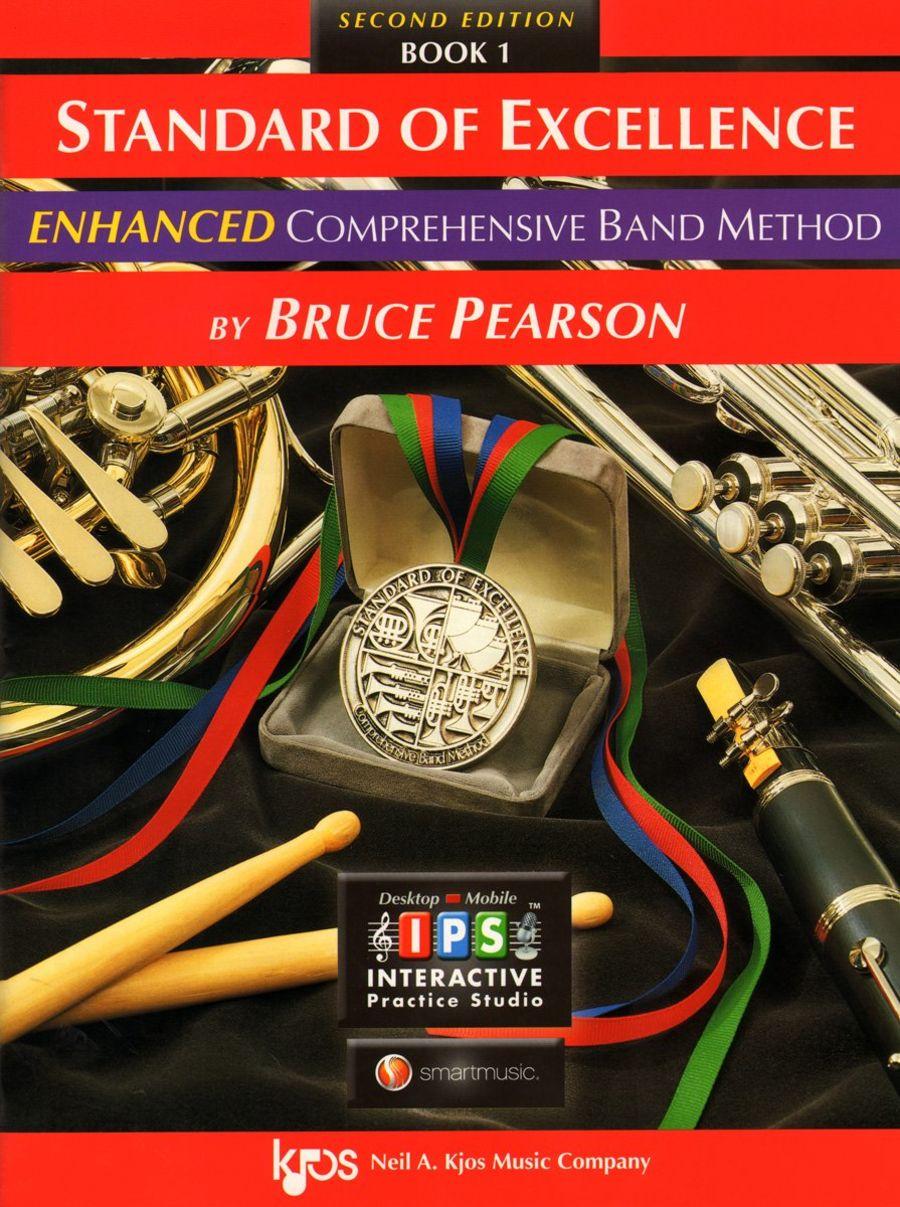 Standard of Excellence: Enhanced Comprehensive Band Method: Flute : Book 1 - inc CD