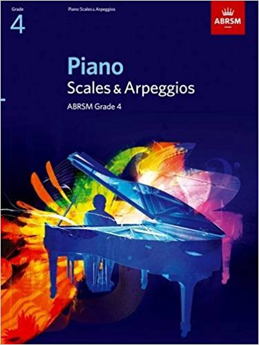 Piano Scales and Arpeggios ABRSM Grade 4