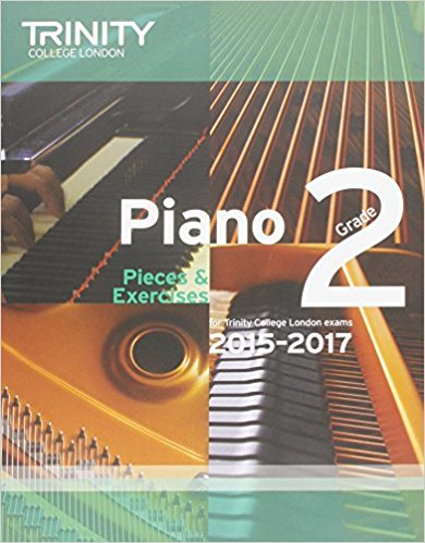 Trinity Piano Pieces and excercises grade 2